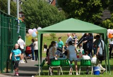 Spectators and refreshments, Open Day 2014